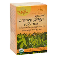 Uncle Lee's Imperial Organic Orange Ginger Rooibus Chai Tea - 18 Tea Bags