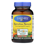 Earthrise Spirulina Natural Powder - 3.2 Oz