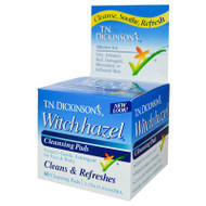 Dickinson Brands Hazelets Witch Hazel Pads - 60 Pads