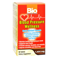 Bio Nutrition - Blood Pressure Wellness - 60 Tablets