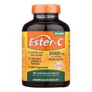 American Health Ester-c With Citrus Bioflavonoids - 1000 Mg - 180 Vegetarian Tablets