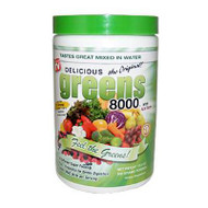 Greens World  Delicious Greens 8000 - 10.6 oz