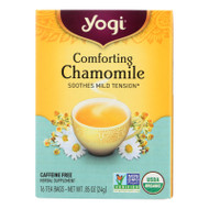 Yogi Organic Comforting Chamomile - 16 Tea Bags - Case Of 6
