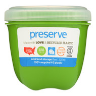 Preserve Mini Food Storage Container - Apple Green - Case Of 12 - 8 Oz