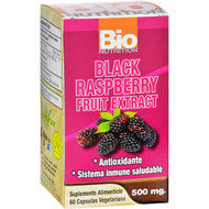Bio Nutrition Black Raspberry Fruit Extract - 60 Vegetarian Capsules