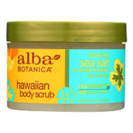 Alba Botanica - Hawaiian Sea Salt Body Scrub - 14.5 Oz