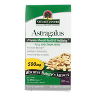 Nature's Answer Astragalus Root - 90 Vegetarian Capsules