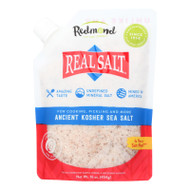 Real Salt Kosher Sea Salt Pouch - 16 Oz
