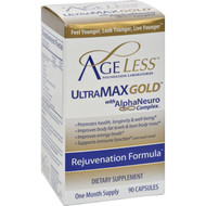Ageless Foundation - Ultramax Gold With Alphaneuro Complex - 90 Capsules