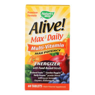 Nature's Way - Alive! Max3 Daily Multi-vitamin - Max Potency - 60 Tablets