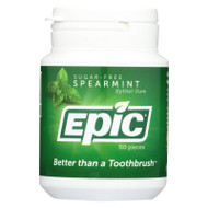 Epic Dental - Xylitol Gum - Spearmint - 50 Count