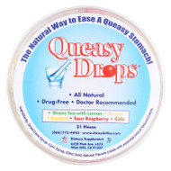 Three Lollies Queasy Drops - Container - 21 Pack
