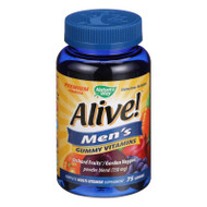 Nature's Way Alive - Men's Energy Gummy Multi-vitamins - 75 Chewables