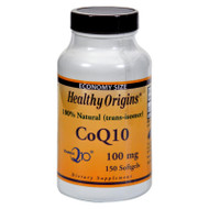 Healthy Origins Coq10 Gels - 100 Mg - 150 Softgels