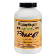 Healthy Origins Phase 2 Carb Controller - 500 Mg - 180 Capsules