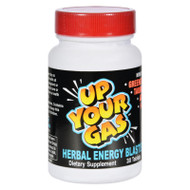 Hot Stuff Up Your Gas Herbal Energy Blaster - 30 Tablets
