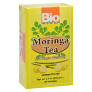 Bio Nutrition - Tea - Moringa Lemon - 30 Bags