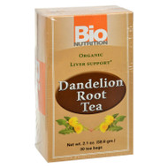 Bio Nutrition - Tea - Dandelion Root - 30 Bags