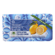 Desert Essence - Bar Soap - Exfoliating Italian Lemon - 5 Oz
