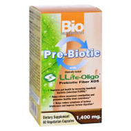 Bio Nutrition Inc Pre-biotic Fiber - Llife-oligo - 1400 Mg - 60 Vegetarian Capsules