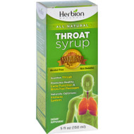 Herbion Naturals Throat Syrup - All Natural - 5 Oz
