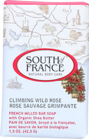 South Of France Bar Soap - Climbing Wild Rose - Travel - 1.5 Oz - Case Of 12