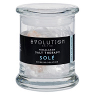 Evolution Salt Sole Drinking Solution - Glass Jar And Crystals - 12 Oz