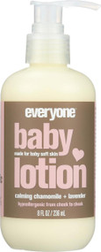 Eo Baby Lotion - Chamomile Lavender - Case Of 1 - 8 Oz.