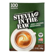 Stevia In The Raw Sweetener - Packets - Case Of 12 - 100 Count