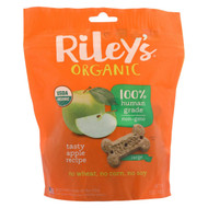 Riley's Organics Riley's Organic Treats - Apple - Case Of 5 - 5 Oz.