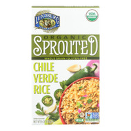 Organic Sprouted Rice; Chile Verde
