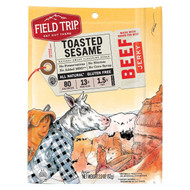 Field Trip Beef Jerky - Roasted Sesame - Case Of 9 - 2.2 Oz.