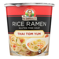 Dr. Mcdougall's Thai Tom Yum Asian Soup Cup - Case Of 6 - 1.2 Oz.