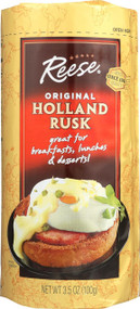 Reese Holland Rusk - Case Of 6 - 3.5 Oz.