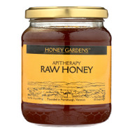 Honey Gardens Apiaries Apitherapy Honey - Raw - Case Of 4 - 1 Lb.
