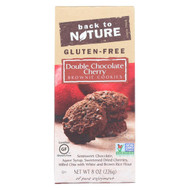 Back To Nature Double Chocolate Cherry Brownie Cookies - Case Of 6 - 8 Oz.