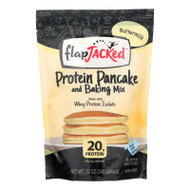 Flapjacked Protein Pancake - Buttermilk Mix - Case Of 6 - 12 Oz.
