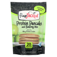 Flapjacked Protein Pancake - Cinnamon Apple Mix - Case Of 6 - 12 Oz.