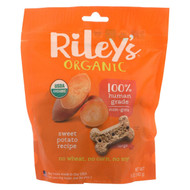 Riley's Organics Riley's Organic Treats - Sweet Potato - Case Of 5 - 5 Oz.