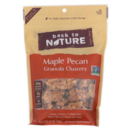 Back To Nature Granola Clusters - Maple Pecan - Case Of 6 - 11 Oz.