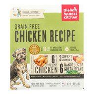 The Honest Kitchen Force - Grain Free Chicken Dog Food - Case Of 1 - 4 Lb.