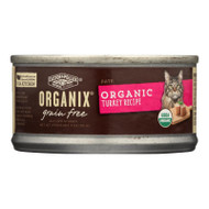Castor And Pollux Organic Cat Food - Turkey Pate - Case Of 24 - 3 Oz.