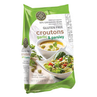 Natural Nectar Croutons - Gluten Free - Garlic And Parsley - Case Of 8 - 2.6 Oz.