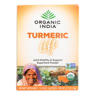 Organic India Lift Box - Turmeric - 15 Count