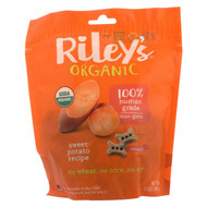 Riley's Organics Riley's Organic Treats - Sweet Potato - Case Of 5 - 5 Oz. - 1786367