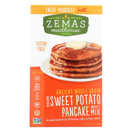 Zemas Madhouse Food Pancake And Waffle Mix - Peruvian Sweet Potato - Case Of 6 - 9.66 Oz.
