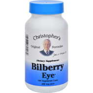 Dr. Christopher's Bilberry Eye - 435 Mg - 100 Vegetarian Capsules