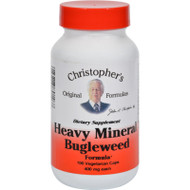 Dr. Christopher's Formulas Heavy Mineral Bugleweed Formula - 400 Mg - 100 Caps - 0987206