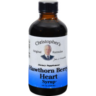 Dr. Christopher's Hawthorn Berry Heart Syrup - 4 Fl Oz