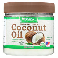 Tropical Plantation Organic Coconut Oil - 24 Fl Oz.